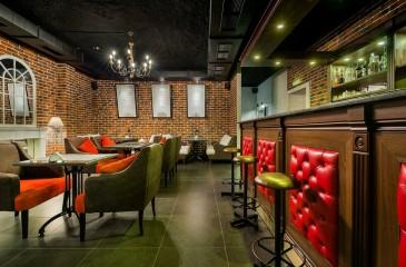 Раскрученный кафе - бар