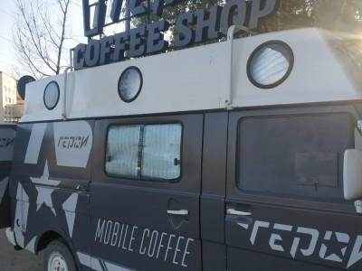 Фудтрак мобильная кофейня