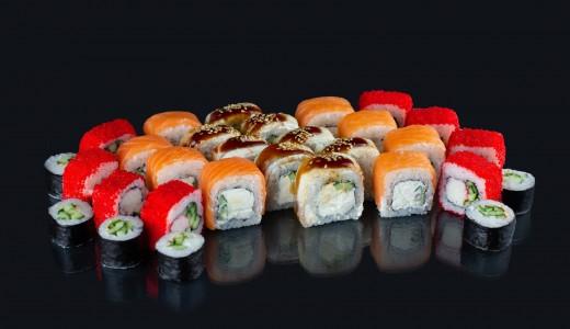 Доставка суши в жилом массиве