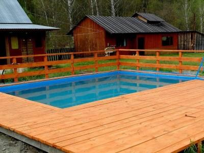 Летняя база отдыха в Чемальском районе (продано)