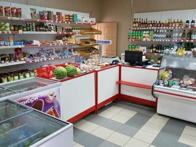 Продуктовый магазин в Советском районе.