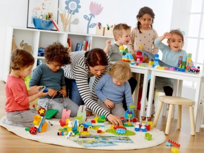Известный детский сад в центре города