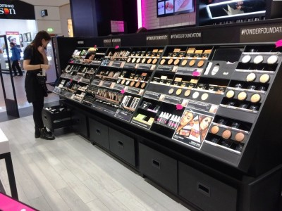 Магазины косметики в крупных ТРЦ