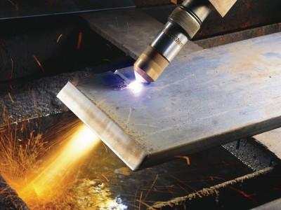 Работающий цех изготовления металлоконструкций