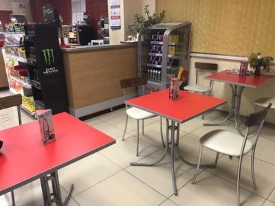 Продуктовый магазин с мини-кафе