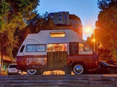 Кофейня на колёсах
