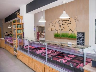 Мясной магазин в мкр. Солнечный (продано)