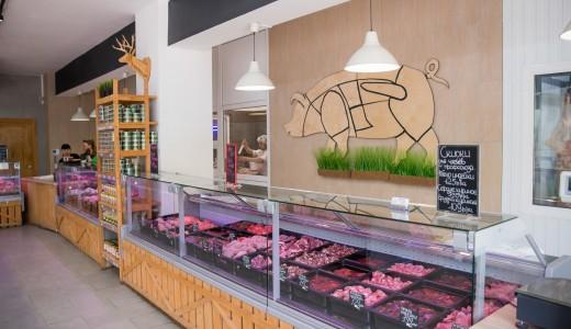 Мясной магазин в мкр. Солнечный