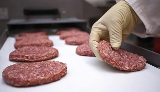 Магазин продуктов с мясным цехом