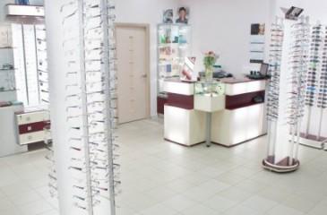 Отдел оптики в ТЦ (продано)