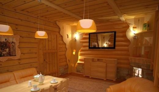Русская баня в спальном районе