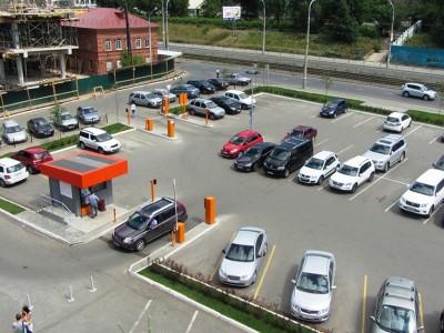 Сеть охраняемых автостоянок