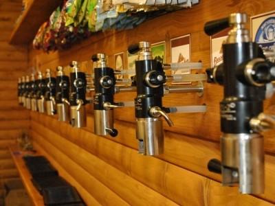 Известный магазин разливного пива