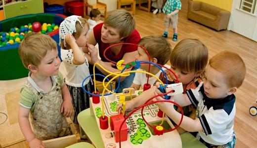 Детский сад известной сети