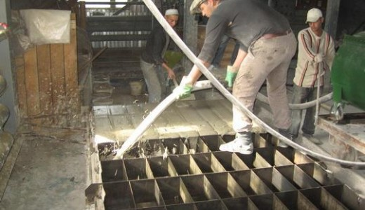 Производство строительных стеновых пеноблоков