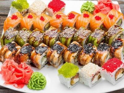 Доставка суши на правом берегу