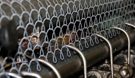 Раскрученное производство сетки-рабицы