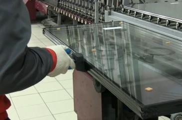 Линия производства стеклопакетов