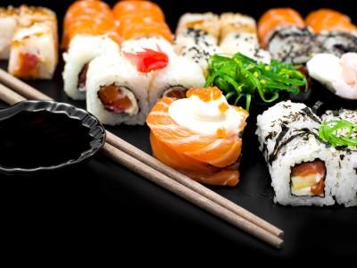 Доставка суши в Свердловском районе (продано)