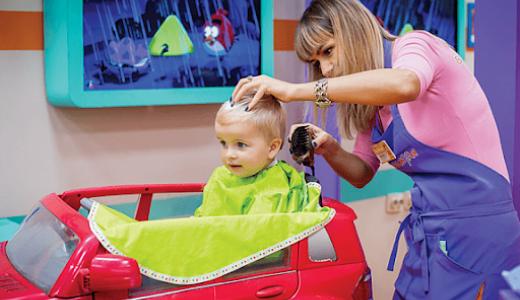 Детская парикмахерская (продан)
