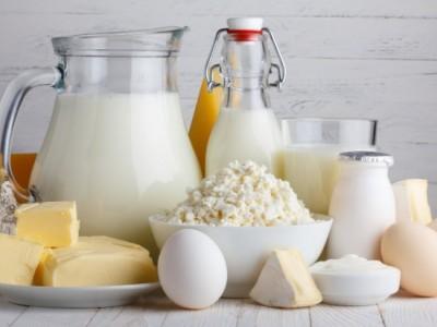 Сеть отделов молочных продуктов
