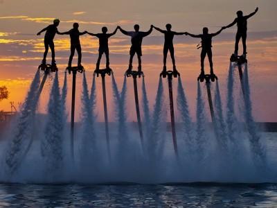 Флайборд. Полёты над водой